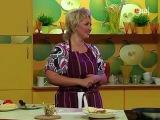 Суп из судака с паприкой, Салат из авокадо с орехами