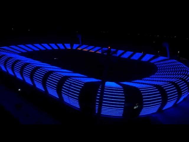 Fiberli LED Aydınlatma - Başakşehir Fatih Terim Stadyumu
