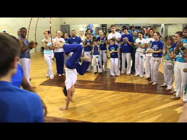 Roda Aberta do dia de Yemanja - Capoeira Angola Palmares Russia