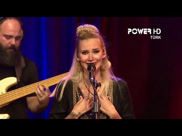 Gökçe-Her Şey Bitmedi Bitemez (Powertürk Akustik 2015) Canlı Performans