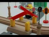 Деревянные паровозики Roys Woody. Первая серия