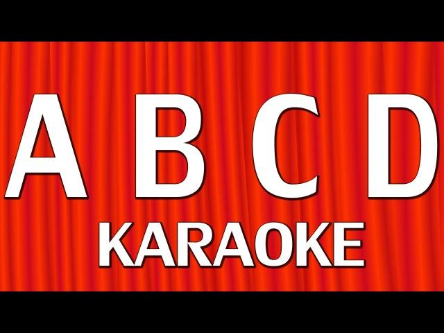 ABCD Alphabet Song - Nursery Rhymes Karaoke Songs For Children | ChuChu TV Rock n Roll