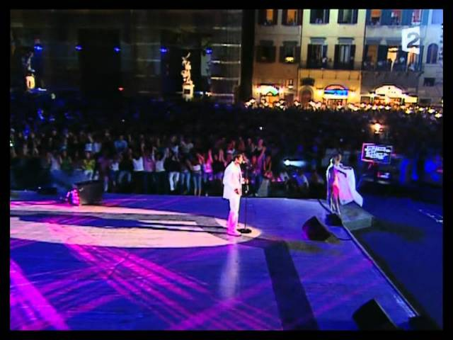 Gregory Lemarchal - Con te partirò (Live) HD
