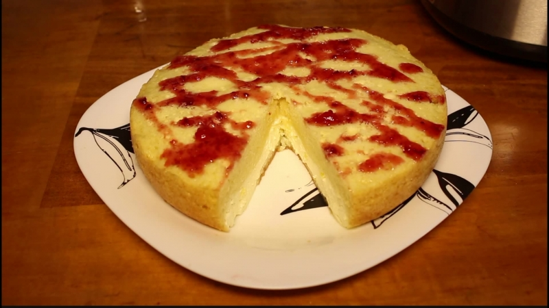 Пирог с начинкой для мультиварки