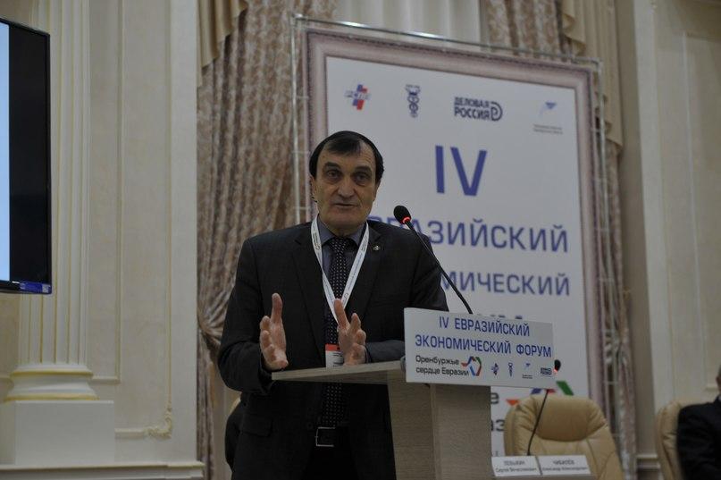 Чибилёв А.А. выступает с докладом