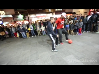 Insane STREET Football Skills - Panna London Pt2 San Garnier