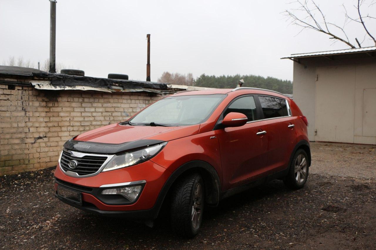Тонировка автомобиля в Гродно, KIA Sportage
