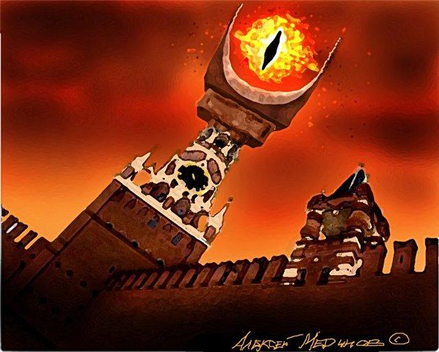 В центре Москвы горело здание Минобороны РФ. - Цензор.НЕТ 3111