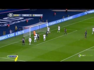 Пари Сен-Жермен - Тулуза 5-0 ( 7.11.15 ) Чемпионат Франции Обзор Матча