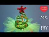 Ободок с Ёлочкой . Костюм Ёлочки ч2 / Hand Made. Christmas tree. Diy