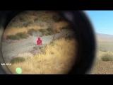 Снайперы армии США и Японии / Тренировочные стрельбы на полигоне