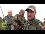 Ukraine: DPR militia fire live rounds to mourn fallen fighters