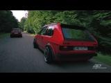 VW GOLF MK1 16V vs. JETTA A1 16V  AP COILOVERS  DARE GARAGE  blog.venom24.pl