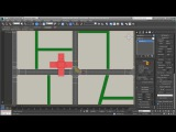 3ds Max - Creating City Blocks - Part 7 - Inner Roads Intersections