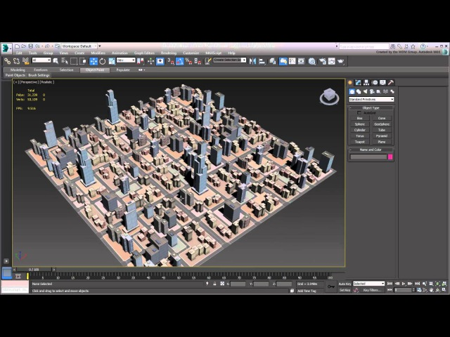 3ds Max - Creating City Blocks - Part 26 - Tiling and Rotating City Blocks