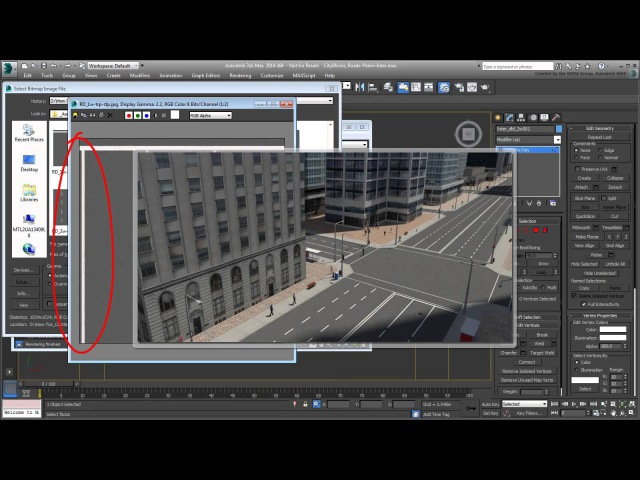 3ds Max - Creating City Blocks - Part 5 -L and T Junctions