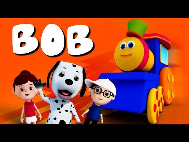 Bob The Train - The Big Bob The Train Popular Nursery Rhymes Kids TV Bob Cartoons S01EP03