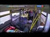 Автобус, протаранивший столб на Варшавском шоссе, отправят на экспертизу