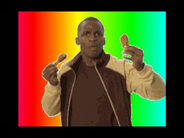 Rainbow Chicken Dance (ORIGINAL) HD
