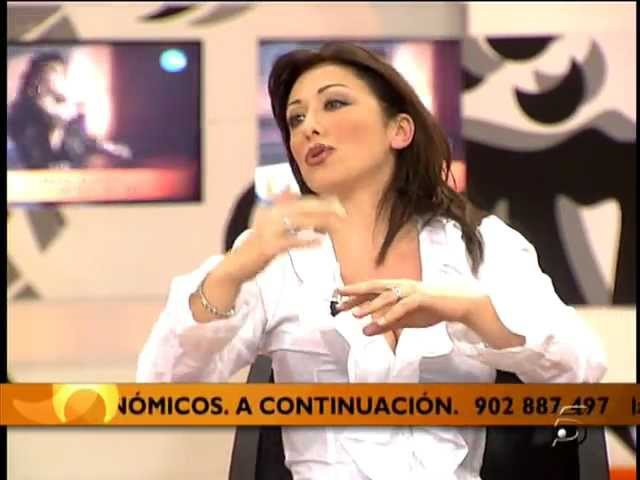 Sabrina Salerno - Entrevista 2008 (Spain TV)