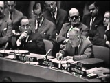 Cuban Missile Crisis- Valerian Zorin Vs Adlai Stevenson @ UNITED NATIONS