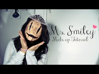 Ms. Smiley - Halloween Makeup Tutorial
