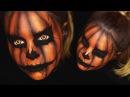 CREEPY HALLOWEEN PUMPKIN / KÜRBIS • Makeup Tutorial | spooktober