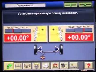 Стенд контроля углов установки колес URS1801 trommelberg