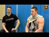 Тренировка плеч от Дениса Гапеева(Бодибилдинг) и Тихонова Ростислава (Пауэрлифтинг)