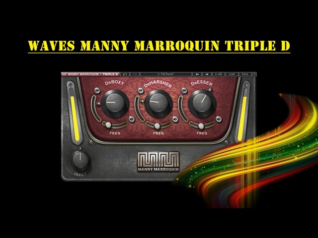 Waves Manny Marroquin Triple D