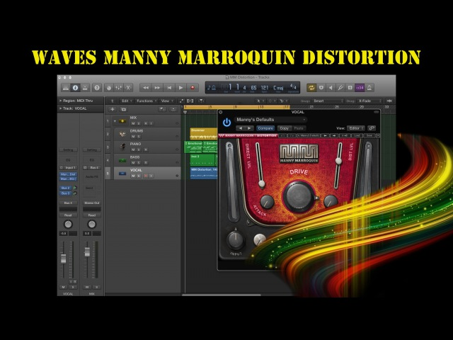 Использование Waves Manny Marroquin Distortion