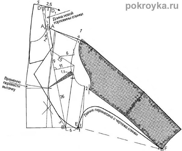 Короткий жакета-болеро (шитье и крой, выкройка) .