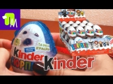 Kinder Surprise Eggs - Unboxing Hello Kitty Animal Planet Disney Princess Смешарики Лунтик