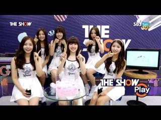 150728 GFRIEND @ The Show MV Talk