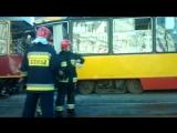 авария трамвай Варшава