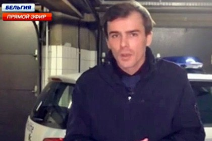 Журналистов НТВ избили в Брюсселе
