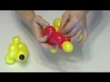 Винни-Пух из шаров (Дисней) Winnie the Pooh from balloons(Disney)