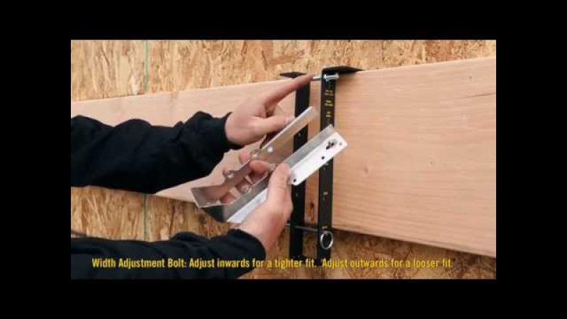 How to install a joist hanger with Hanger-Buddy