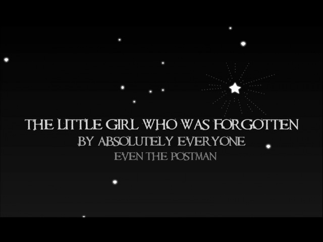 The Little Girl Who Was Forgotten