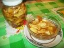 Янтарное варенье из яблок дольками