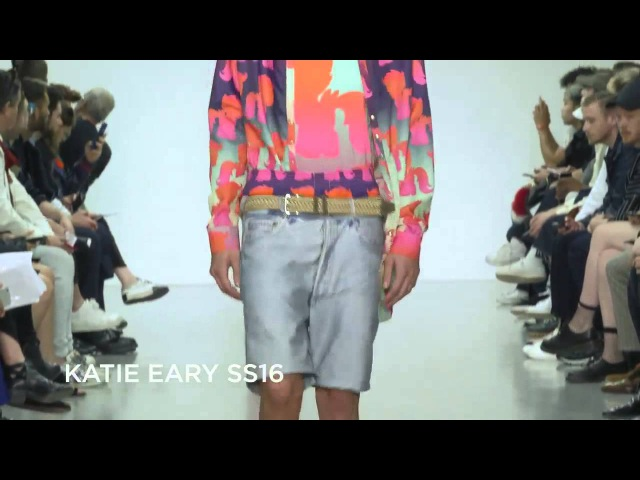 Katie Eary SS16 at London Collections Men