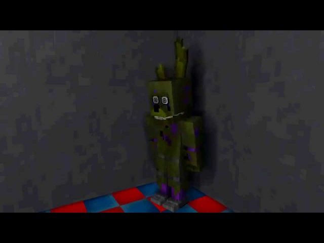The death of Purple Guy. The birth of Spring Trap. [Mine-imator]