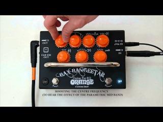 Orange Bax Bangeetar Pedal Demo with Designer Adrian Emsley