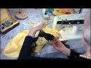 Обработка проймы и горловины обтачками