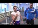 Михаил Габеев упражнение для закачки травм локтевого сустава сборная России по тяжелой атлетике