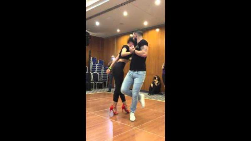Daniel y Desiree en BNF Dubai Latin Festival 18-22-2015 ,BACHATA Danza, Hermosos, Beyonce