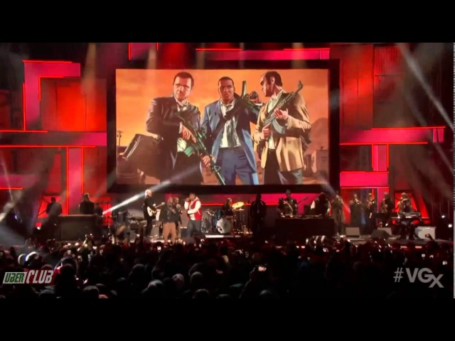 The Music of Grand Theft Auto V at VGX 2013 LIVE - Ali Bomaye