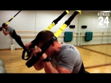 Основные упражнения с TRX на все группы мышц