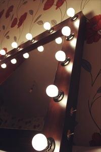 Гримерное зеркало с лампочками  пермь