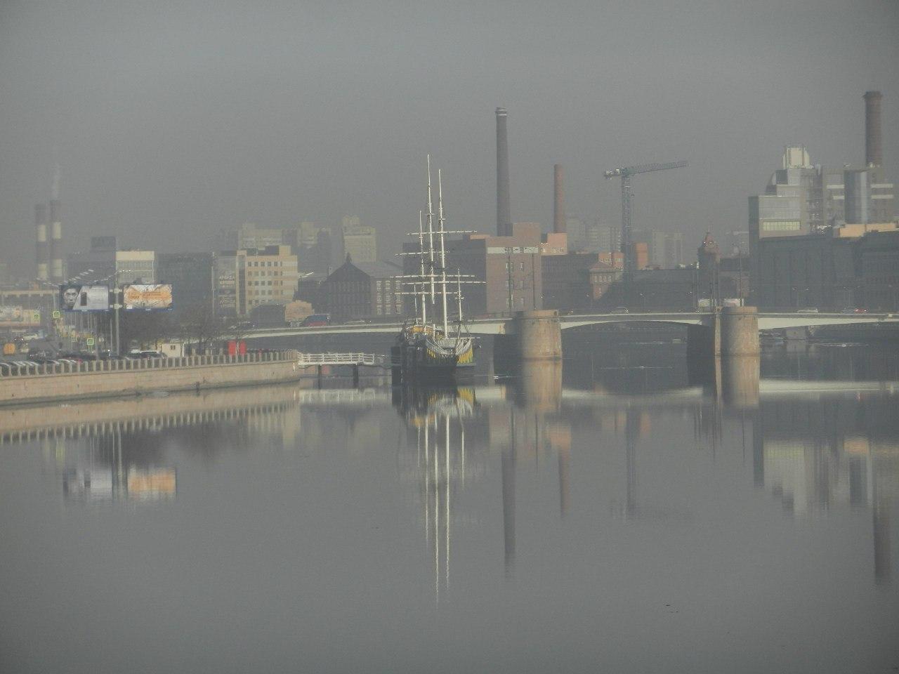 пыль и смог в СПб